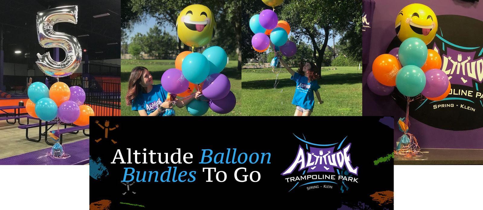 Altitude Trampoline Spring - Birthday Balloon Bundles